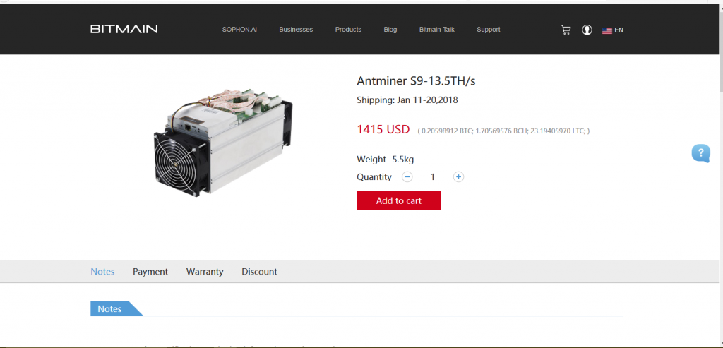 bitcoing mining antminer