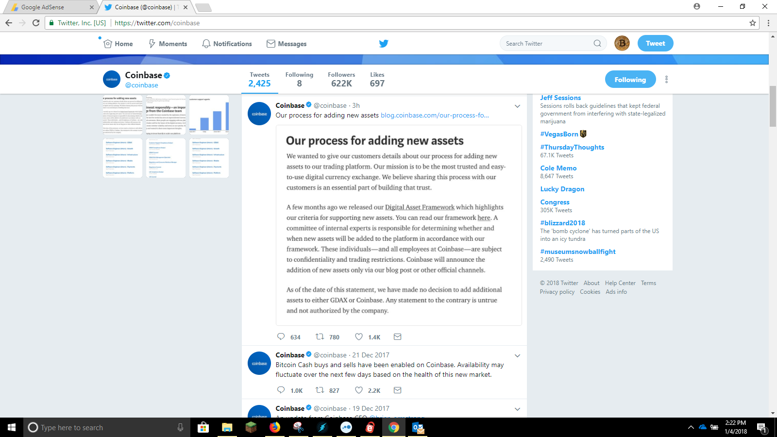 Ripple XRP Craters on Coinbase News